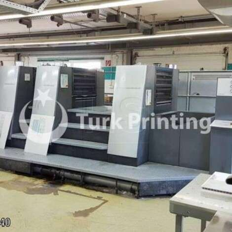 Used Heidelberg SM CD 74-5-P2-H (C) year of 2006 for sale, price ask the owner, at TurkPrinting in Used Offset Printing Machines
