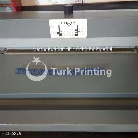 Used Lamirel Spiral Wire Binding And Compression Machine year of 2016 for sale, price 678 USD, at TurkPrinting in Wire and Spiral Machines