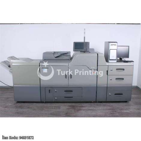 Used Ricoh Pro C 651 EX Colour Production System year of 2014 for sale, price 5939 EUR C&F (Cost & Freight), at TurkPrinting in High Volume Commercial Digital Printing Machine