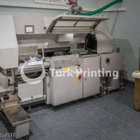 Used Horizon BQ460 Perfect Binding Machine year of 2004 for sale, price 24000 EUR FOT (Free On Truck), at TurkPrinting in Perfect Binding Machines
