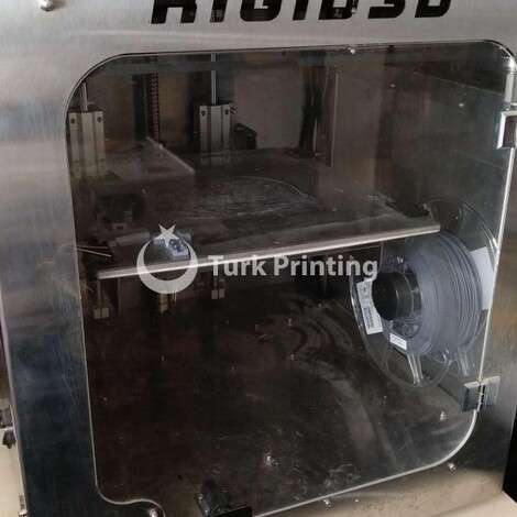 Used Rigid 3D Printer, 2018 year year of 2018 for sale, price 3000 TL, at TurkPrinting in 3D Printer
