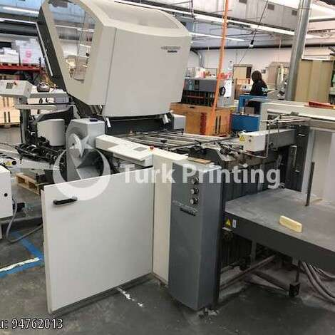 Used Stahl / Heidelberg Stahlfolder KH 66 / 4 KZ Paper Folder year of 2005 for sale, price ask the owner, at TurkPrinting in Folding Machines