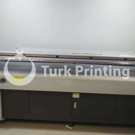 Used Ricoh Gen4 Flatbed Uv Print 2513 (Cmyk+W) year of 2017 for sale, price 130000 TL EXW (Ex-Works), at TurkPrinting in Flatbed Printing Machines