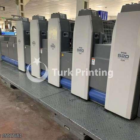 Satılık ikinci el 2006 model Ryobi 525 GX 35x50 OFSET BASKI MAKİNASI 95000 EUR EXW (Ex-Works) TürkPrinting'de! Ofset Baskı Makinaları kategorisinde.