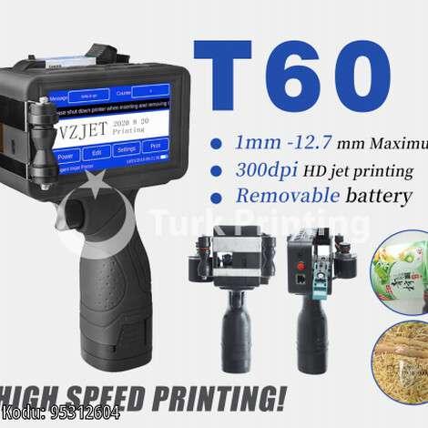 Satılık sıfır 2021 model Vzjet T60 İnkjet Kodlama fiyat sorunuz TürkPrinting'de! Kodlama Makinası - İnkjet Kodlama kategorisinde.