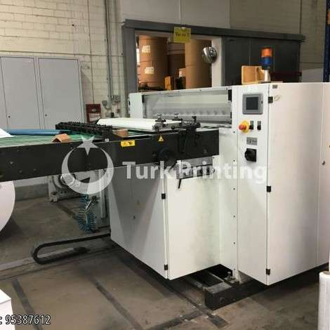 Used Mabeg RS-105 ROLL TO SHEET FEEDER - 2006 year of 2006 for sale, price ask the owner, at TurkPrinting in Sheeter Machines