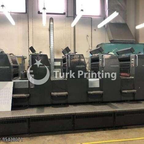 Satılık ikinci el 1998 model Heidelberg SM 74-5HP Ofset Matbaa Makinesi fiyat sorunuz TürkPrinting'de! Ofset Baskı Makinaları kategorisinde.