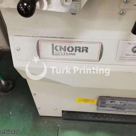 Used Knorr Systeme RL2 Jogger year of 2000 for sale, price ask the owner, at TurkPrinting in Paper Cutters - Guillotines