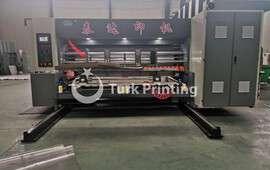 ZTD1224 kurşun kenar otomatik dört renk oluklu kutu yazıcı slotter diecutter makinesi