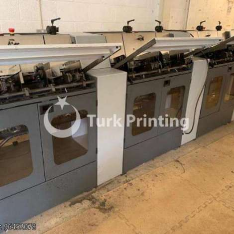 Used Heidelberg ST 100 1 Stitchmaster Saddle Stitching Line year of 2000 for sale, price ask the owner, at TurkPrinting in Saddle Stitching Machines