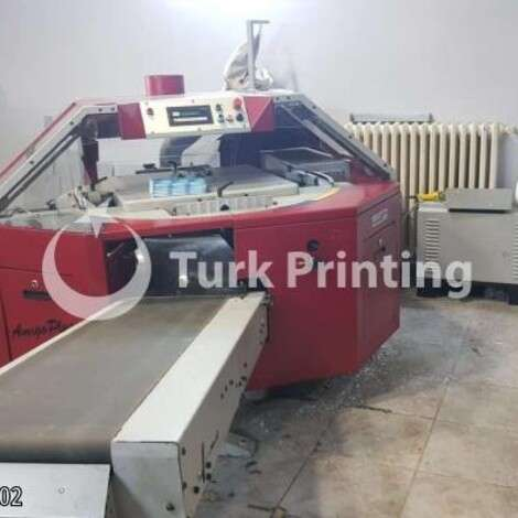 Used Muller Martini Amigo Plus Perfect Binder year of 2001 for sale, price ask the owner, at TurkPrinting in Perfect Binding Machines