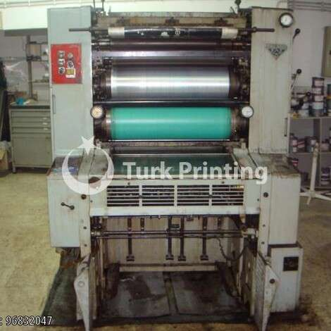Used Man-Roland 50x70cm ONE COLOUR OFFSET PRINTING PRESS year of 1972 for sale, price ask the owner, at TurkPrinting in Used Offset Printing Machines