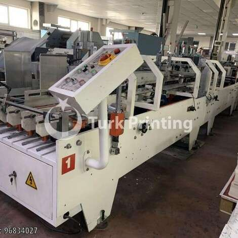 Used Printyoung ZH-880D Folder Gluer 2 Adhesive year of 2013 for sale, price 125000 TL EXW (Ex-Works), at TurkPrinting in Folding - Gluing