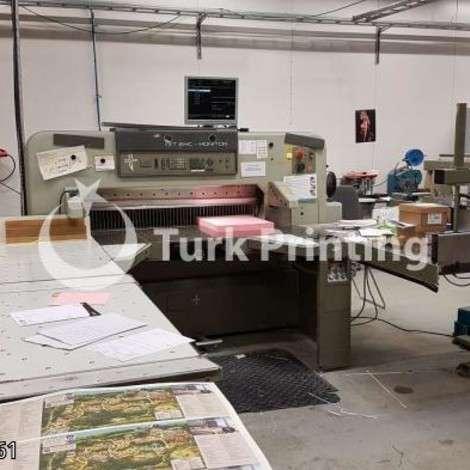 Satılık ikinci el 1990 model Polar 137 EMC- monitor Matbaa Giyotini fiyat sorunuz TürkPrinting'de! Bıçaklar - Giyotin kategorisinde.