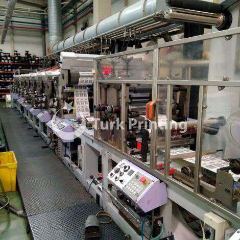 Used Omet Multifilm FP 420 year of 2001 for sale, price ask the owner, at TurkPrinting in Flexo and Label Printing Machines