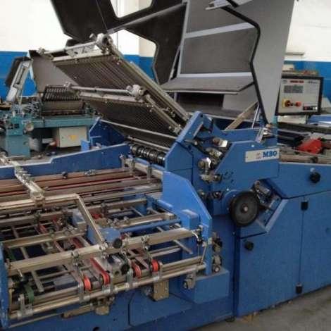 Satılık ikinci el 2003 model MBO T 1020 Kağıt Katlama Makinası fiyat sorunuz TürkPrinting'de! Katlama (Kırım) Makinaları kategorisinde.