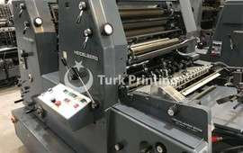 GTO Z 52 TWO COLOR OFFSET PRINTING PRESS