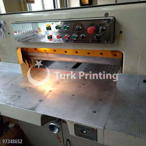 Used Toros MT 85 Paper Guillotine year of 1991 for sale, price 4400 EUR, at TurkPrinting in Paper Cutters - Guillotines