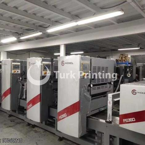 Used Nickel intermittent label offset presses year of 2019 for sale, price ask the owner, at TurkPrinting in Flexo and Label Printing Machines