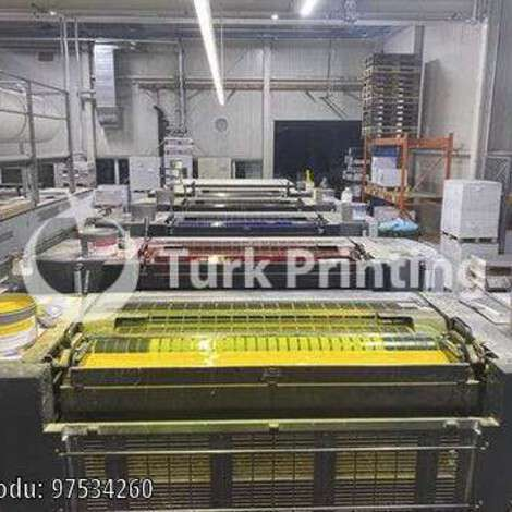 Used Heidelberg SM CX 102-5 LX year of 2014 for sale, price ask the owner, at TurkPrinting in Used Offset Printing Machines