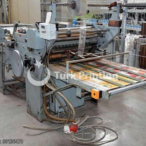 Used Kohmann FEM/S (window patching machine) year of 1968 for sale, price 10500 EUR FCA (Free Carrier), at TurkPrinting in Other Packaging and Converting Machines
