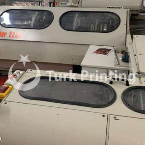 Used Aster complete book sewing line, gathering line with 2 sewing machines, year of 2005 for sale, price ask the owner, at TurkPrinting in Book Sewing Machines
