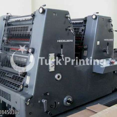 Used Heidelberg GTO 52-2P Offset Printing Press year of 1985 for sale, price 68000 TL EXW (Ex-Works), at TurkPrinting in Used Offset Printing Machines