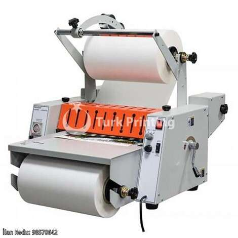 New Vansda THERMAL LAMINATOR 380P year of 2020 for sale, price ask the owner, at TurkPrinting in Laminating - Coating Machines