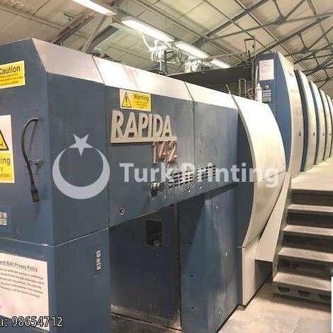 Satılık ikinci el 2012 model KBA Koenig & Bauer Rapida 142 -8 SW-4 FAPC fiyat sorunuz TürkPrinting'de! Ofset Baskı Makinaları kategorisinde.