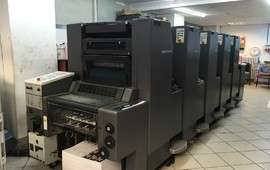 SM 52 - 5 PRINTING MACHINE FOR SALE