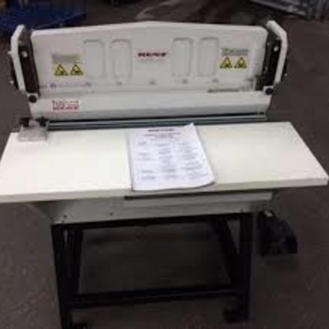 Renz wirUsed Renz super 700 wire punching machine for sale.e punch