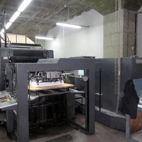 Satılık ikinci el 1999 HEIDELBERG CD 102-5 beş renkli ofset baskı makinesi. CPC1-04 Ink and register remote control with Jobcard