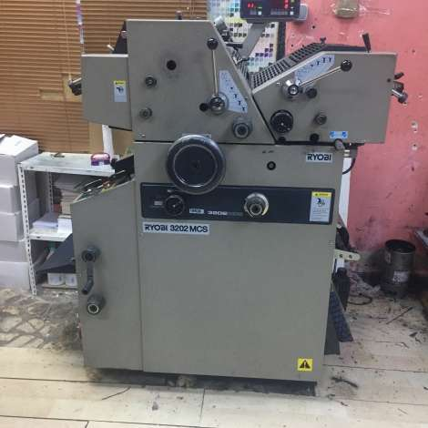 Used Ryobi 3202 + ULTRA FOR SALE year of 1994 for sale, price 42500 TL EXW (Ex-Works), at TurkPrinting in Continuous Form Printing Machines
