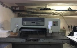 PAPER CUTTER (GIOTINE) MACHINE FOR SALE