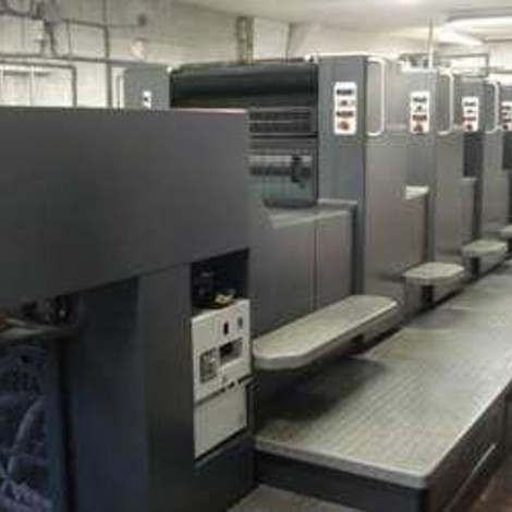 Used 1997 HEIDELBERG SM74-4P3H offset printing machine for sale. CP Tronic, CPC 1-04, Alcolor with Technotrans,