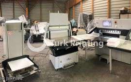 N92 PLUS + RA-2 + LW 450-2 Kağıt Kesim Hattı