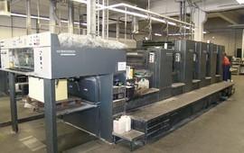 SM 102-4+L Ofset Baskı Makinesi