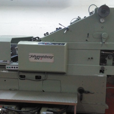 USED JOHANNISBERG HOT FOILING MACHINES FOR SALE. NEW FOILING UNIT. WITHOUT PROBLEM