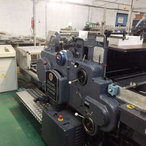 Used Heidelberg SBG – 56x77 – Hot foil Machine For Sale. Format 56x77 cm