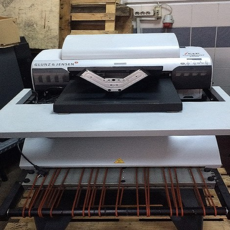 Used GLUNZ&JENSEN ICTP PLATEWRITER 2000 for sale. Very good quality Inkjet CTP systemMaking