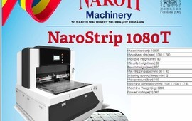 Narostrip Karton Kutu Boşluk Ayıklama Makinası