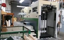 SP 102 E II Automatic Die Cutting Machine For Sale