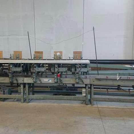 Satılık MULLER MARTINI STARBINDER 3006/18 kapak takma makinesi. 2 hand feed model 272, 12 automatic gathering unit