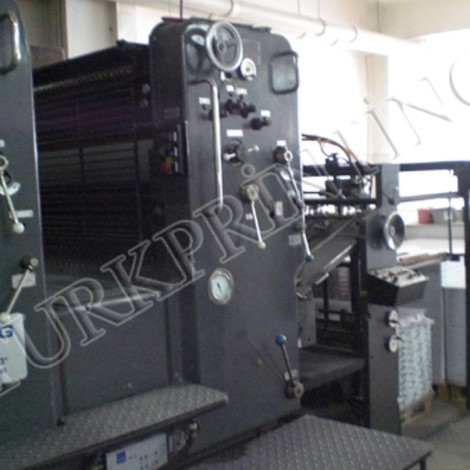 Very clean used Heidelberg SM 102 ZP two color offset printing press for sale. Regular dampening, auto blanket washer, weko powder. Test possible.
