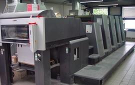 CD 74-4 L Ofset baskı Makinası