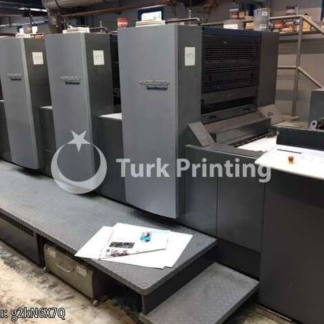 New Heidelberg Speedmaster 74-5+L-P year of 2007 for sale, price 255000 EUR FCA (Free Carrier), at TurkPrinting in Used Offset Printing Machines