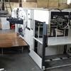 Satılık ikinci el Bobst SP 1260 E / 74 keski makinesi. 1974 makine n 74 yılı. 536012 Serisi n. 1974 boyutu en fazla 1250 x 900