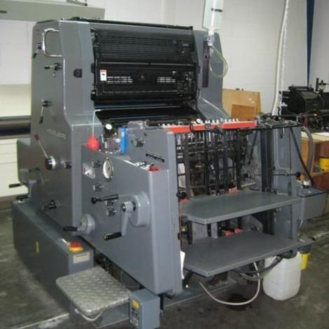 Satılık Heidelberg MO-E ofset baskı makinesi. Baskı sayısı: 4.990.000 Nemlendirme: Varn Kompac