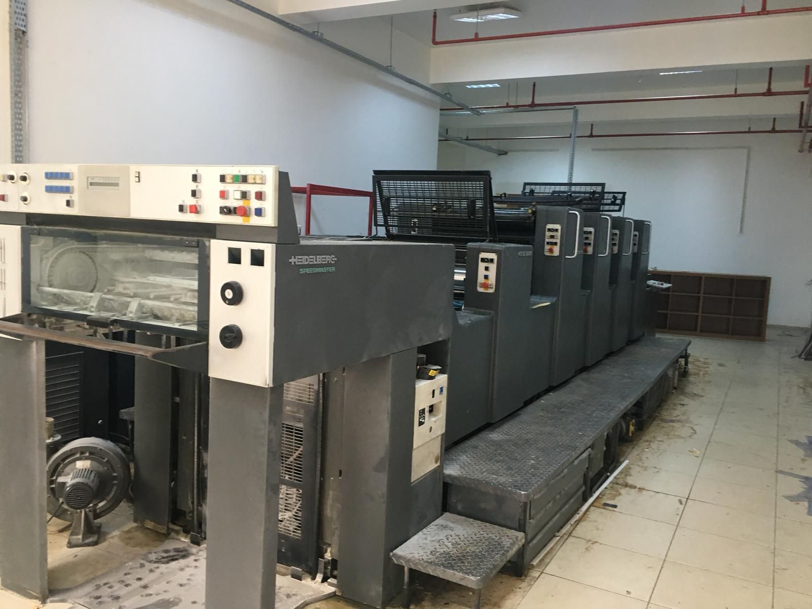 Heidelberg Used Sm 74 L Offset Printing Machine For Sale