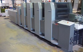 SM 52-4 H + LX Ofset Baskı Makinesi